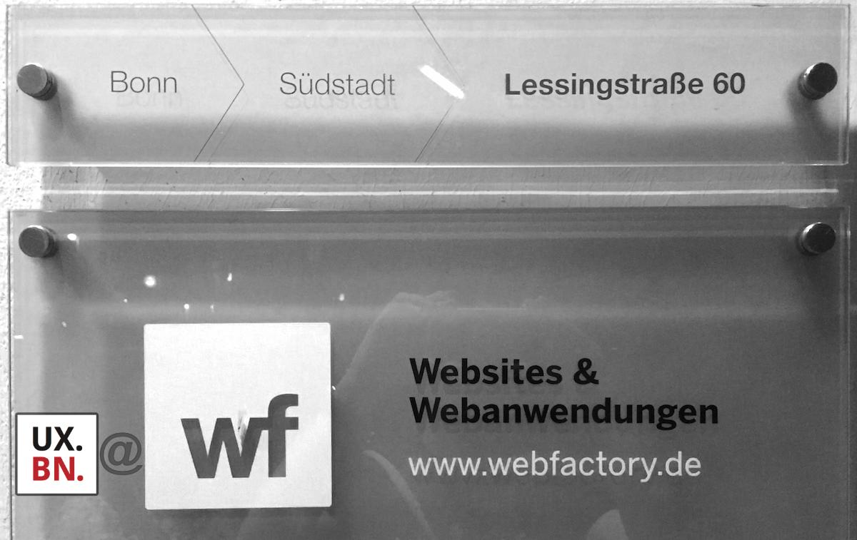 UXBN@webfactory